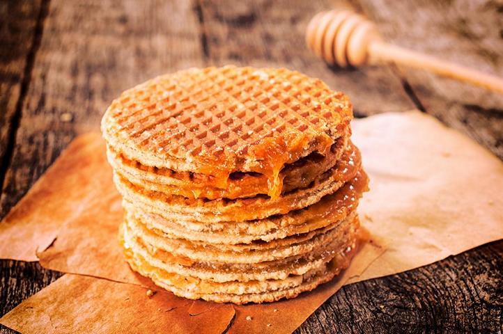 Honig mit Süßspeise