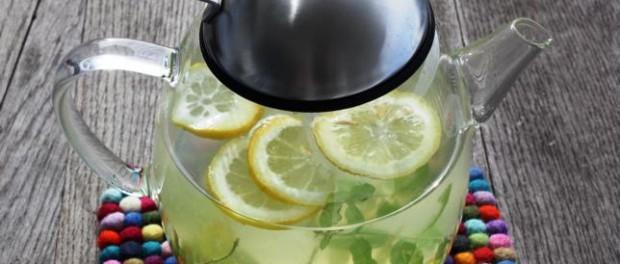 Ingwer-Honig, Drink, Pfefferminze