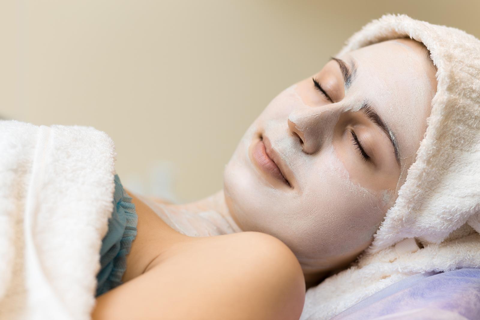 Honig Wachs Gesichtsmaske
