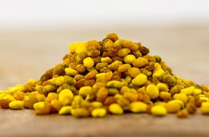 Pollen im Muesli