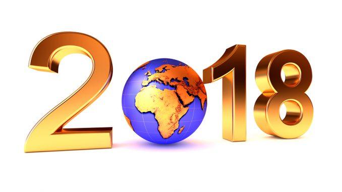 Gesundes neues Jahr 2018